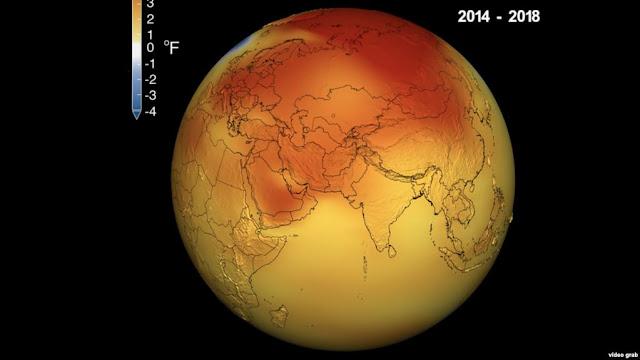 الشهر الأكثر حرارة منذ 140 عاما.. وذوبان تاريخي للجليد