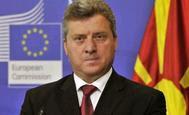 ο πρόεδρος της ΠΓΔΜ, Γκιόργκε Ιβάνοφ