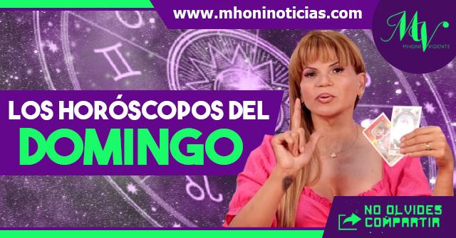 Los horóscopos del DOMINGO 25 de ABRIL del 2021 - Mhoni Vidente