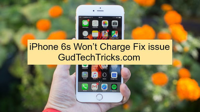 iphone 6s won't charge