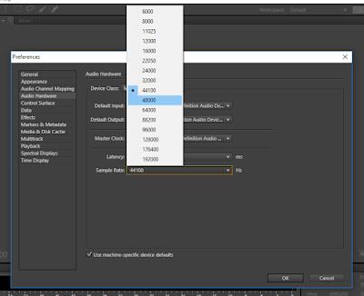 Cara Merekam Suara di Adobe Audition CS 6 mengatur suara di audition mudah