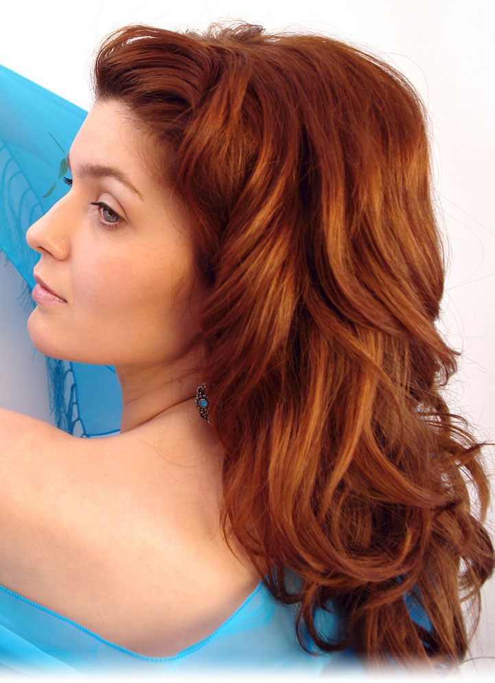 Beautiful Winter Hair Color Fashion For Girl 2013