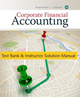 Corporate Financial Accounting, 15th, Edition Carl Warren, Jeff Jones , 1