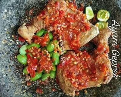 resep masakan menu ayam geprek