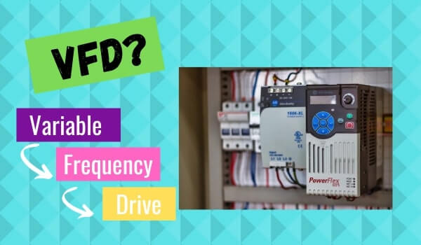 variable frequency drive (VFD) functioning principle?