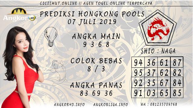 PREDIKSI HONGKONG POOLS 07 JULI 2019