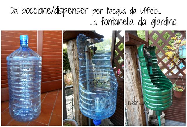 Decoriciclo: l'annosa questione della fontanella da giardino