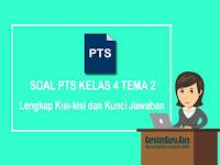 Soal PTS Kelas 4 Tema 2 Semester 1 Kurikulum 2013 dan Kunci Jawaban