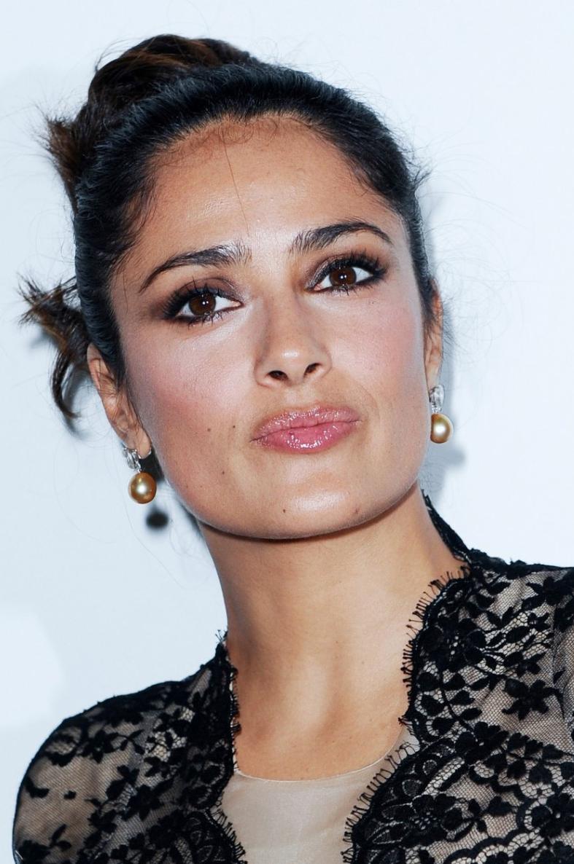 Makeup Video Tutorial: Salma Hayek Without Makeup New Pictures 2013