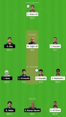 IND vs PF Dream11 team prediction
