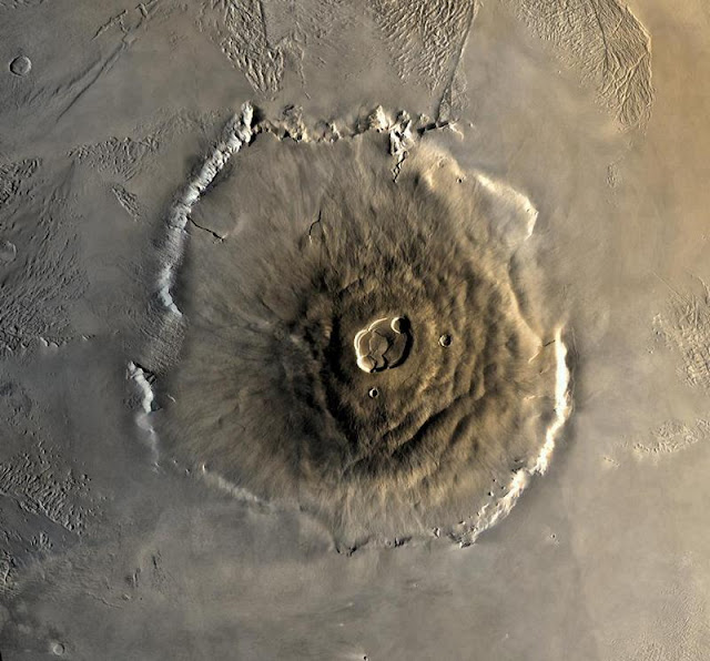 Mars is home to the tallest mountain of any known mountain in the solar system. Its height is 22 km.