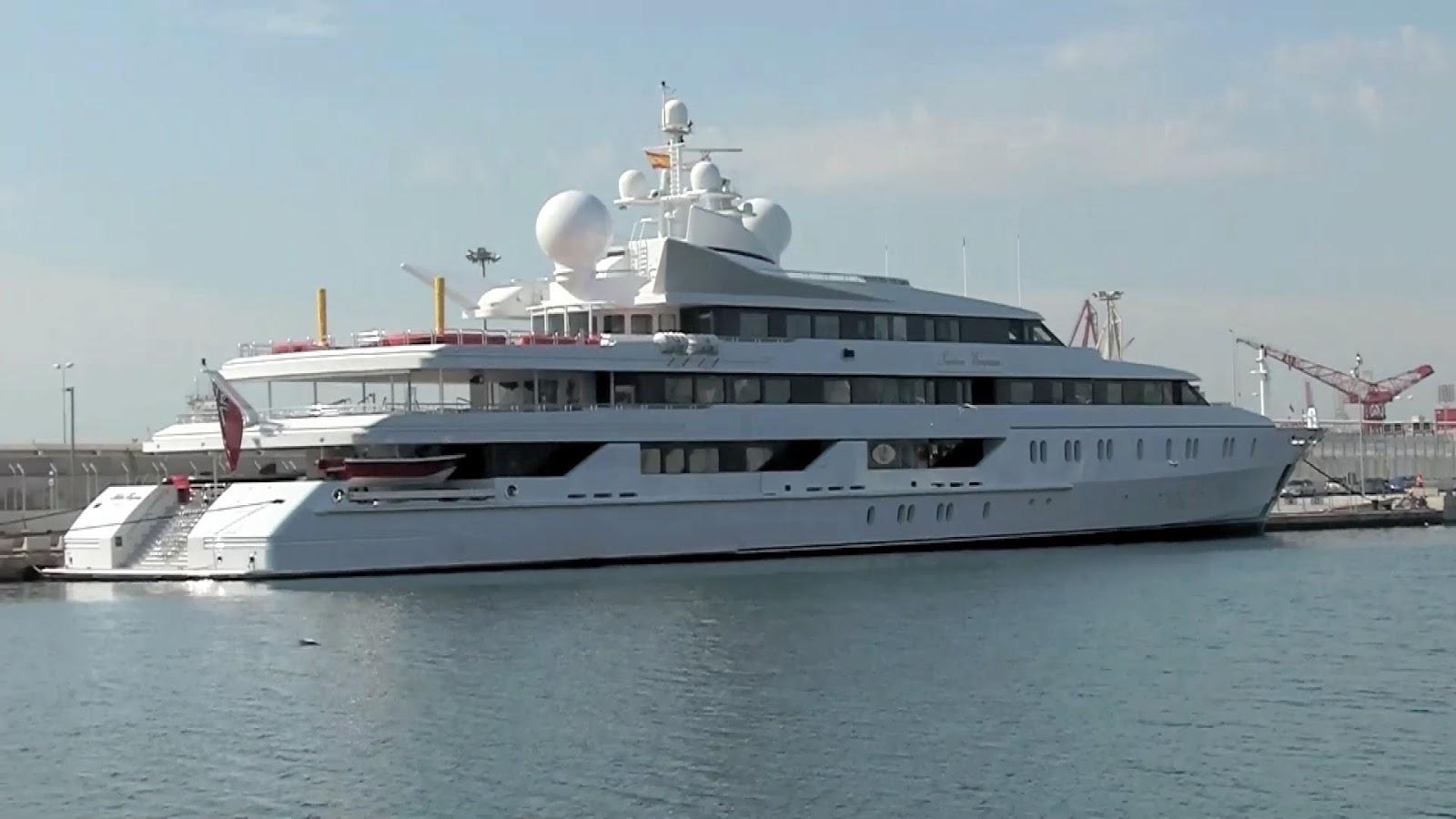 Indian Empress Superyacht Photos Marine Vessel Traffic