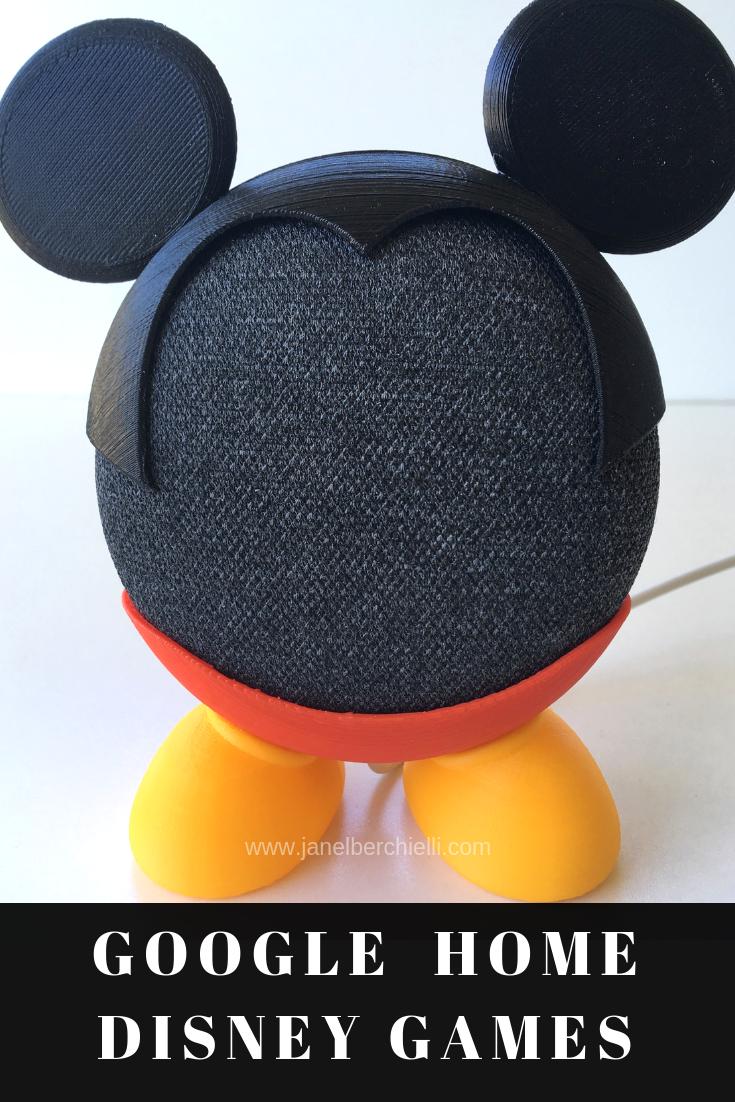 Google Home Disney Games Janel Berchielli