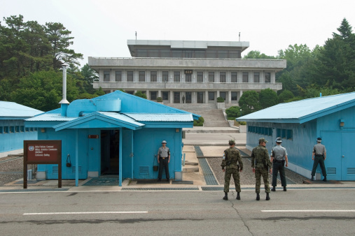 Demilitarized Zone of North Korea and South Korea