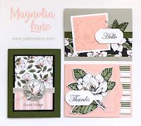 Stampin' Up! Good Morning Magnolia ~ Magnolia Lane Card Kit ~ www.juliedavison.com