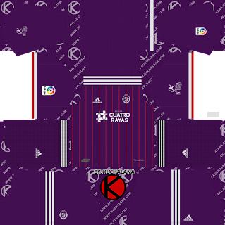 Real Valladolid 2019/2020 Kit - Dream League Soccer Kits