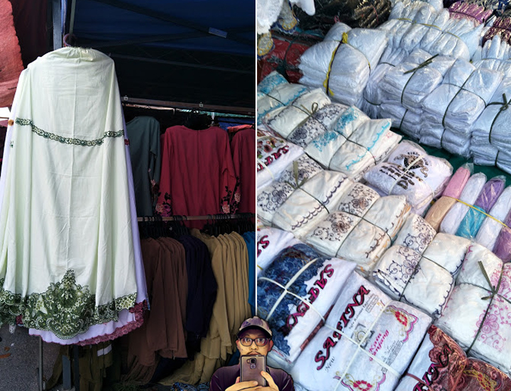 Lokasi Lubuk Tudung, Telekung dan Pakaian Wanita Dengan Harga Murah