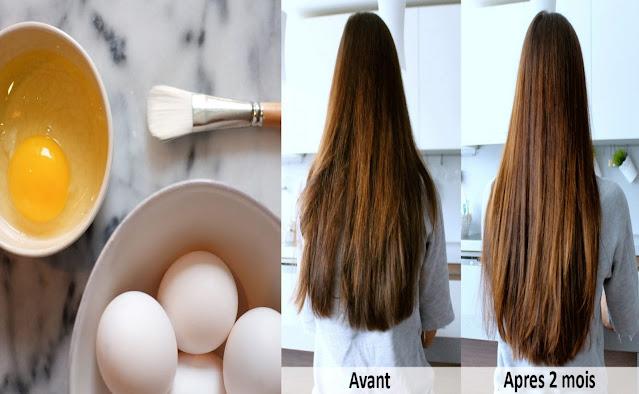 L'œuf est le soin parfait pour tout type de cheveux! voila comment l'appliquer