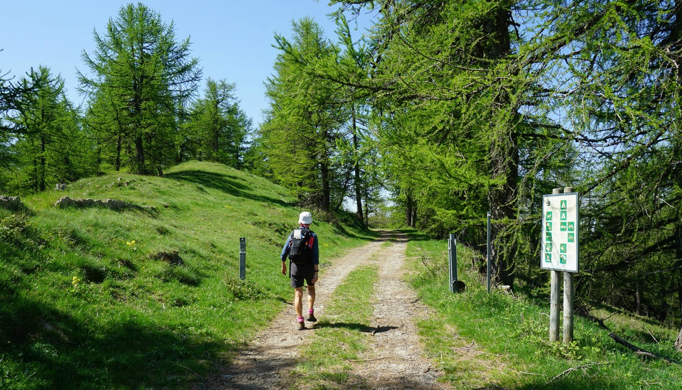 Start of trail to Mangiabo from D68 road