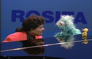 Little Richard sings Rosita with Rosita. Sesame Street Best of Friends