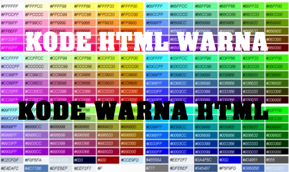 HTML KODE WARNA KODE HTML WARNA KODE WARNA HTML
