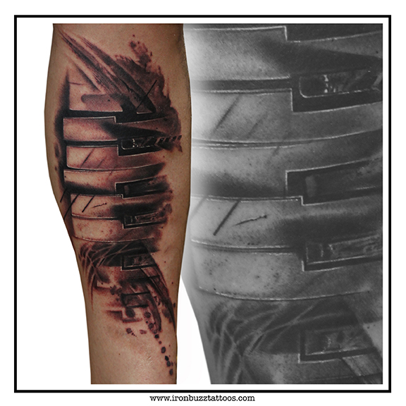 Iron Buzz Tattoos Andheri Mumbai: Best Tattoo Studio / Artist