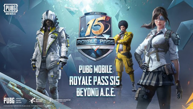 PUBG Mobile Royale Pass S15 Beyond A.C.E. released