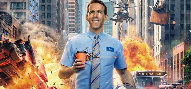 Estrela de 'Free Guy' compara o filme de Ryan Reynolds com 'O Show de Truman'