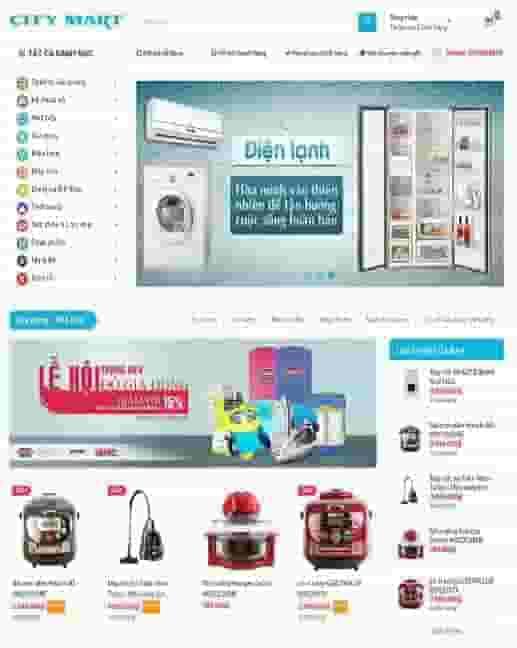 Mẫu giao diện blogspot bán hàng supertheme
