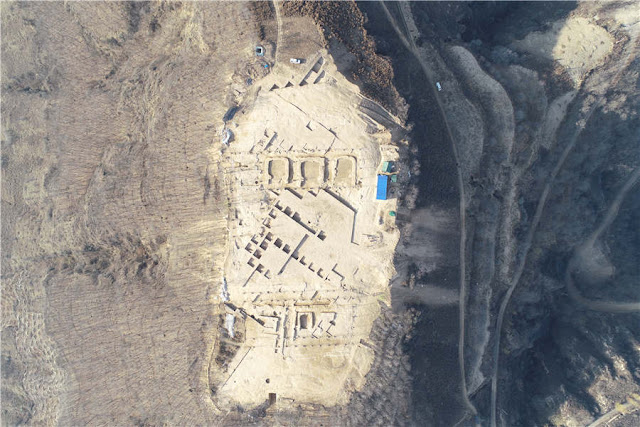 Shaanxi site could be prototype for Chinese palaces