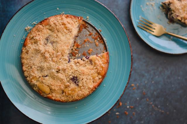 Cherry crumb cake recipe