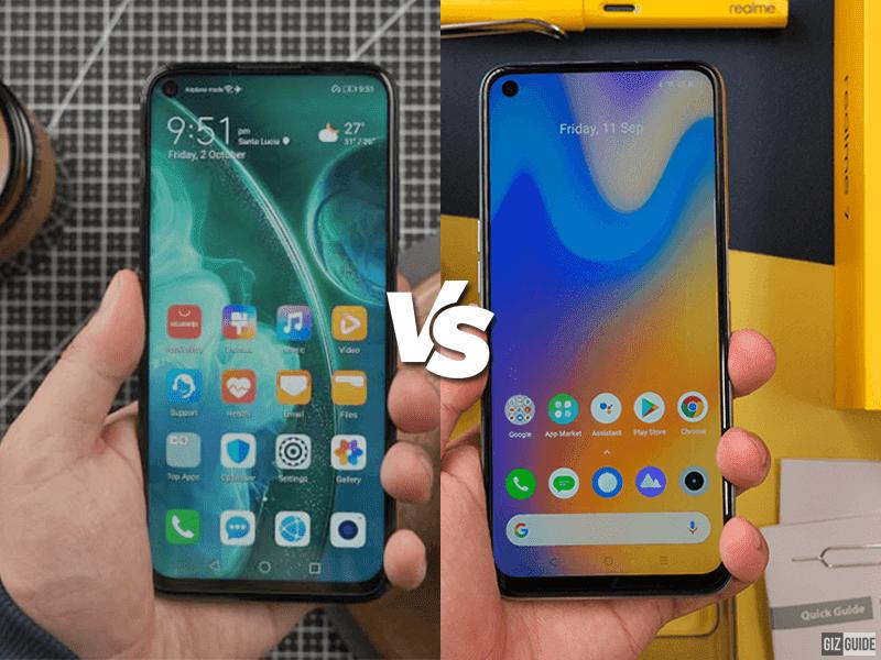 Huawei nova 7i vs realme 7 Specs Comparison