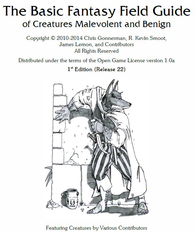 The Amateur Dungeoneers: Ten Monsters Setting