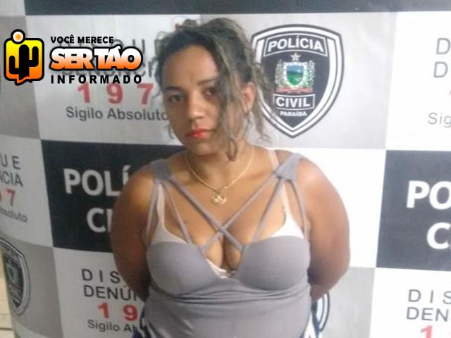 Mulher acusada de tráfico de drogas é presa em ação da Polícia Civil em Sousa