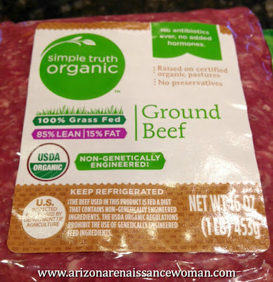 Organic Ground Beef for Tacos