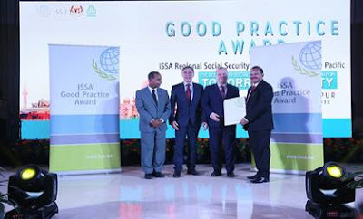 ESIC wins ISSA GOOD Practice Award, Asia and Pacific 2018