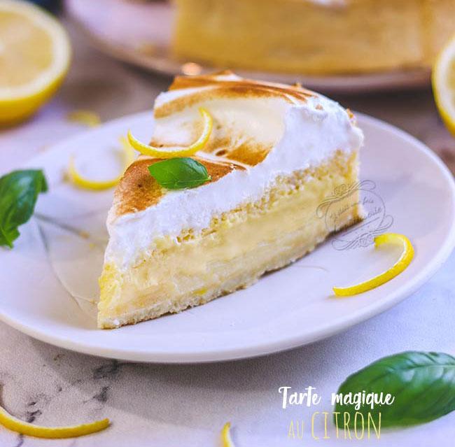 tarte magique recette au citron