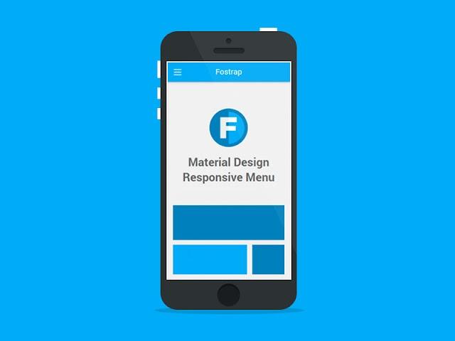 Material Design Responsive Menu đơn giản chỉ với HTML và CSS cực nhẹ