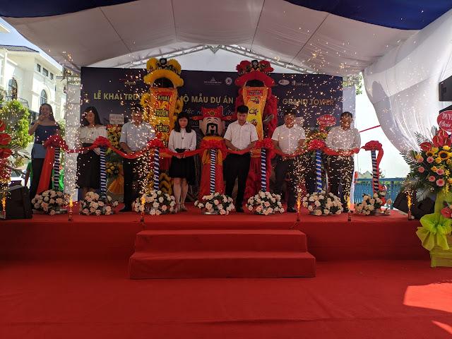 Lễ khai trương căn hộ mẫu Hoàng Huy Sở Dầu