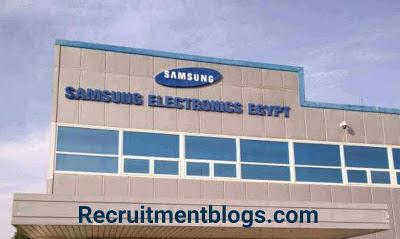 Maintenance Engineer  (Mechatronics Engineer or Electrical Engineer) At Samsung Electronics Egypt