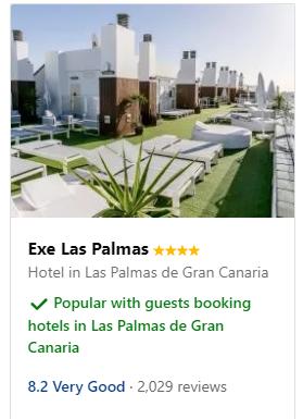 hotels in Las Palmas de Gran Canaria