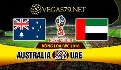 Nhận định bóng đá Australia vs UAE