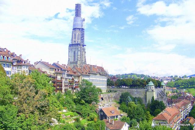 Szwajcaria: Berno- trochę więcej miasta