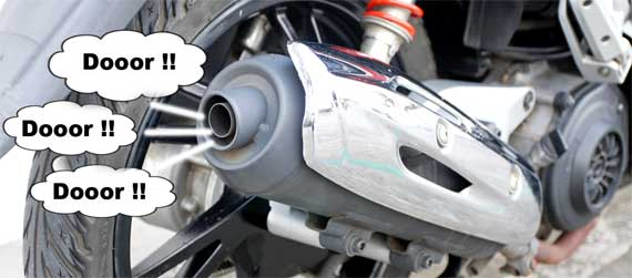 5 Penyebab Knalpot Motor Meledak-ledak dan Cara Mengatasinya.