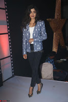 Poonam Kaur looks super cute in Denim at Nakshatram music launch 011.JPG