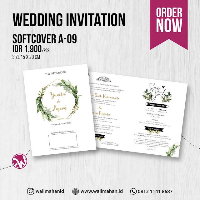 Undangan Pernikahan Tangerang A09 - Walimahanid | 0812-1141-8687
