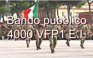 adessolavoro - 4000 VFP1 Esercito Italiano