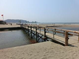 夏場だけの橋