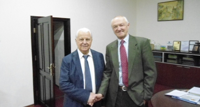 Meeting with the first President of Ukraine Leonid Kravchuk