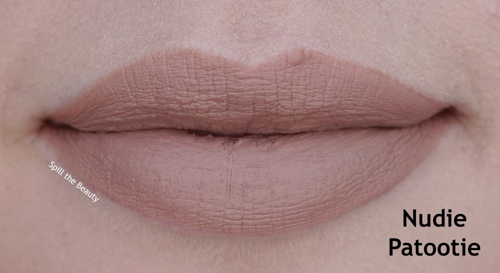 wet n wild liquid catsuit matte lipstick review swatches look nudie patootie 920b lips
